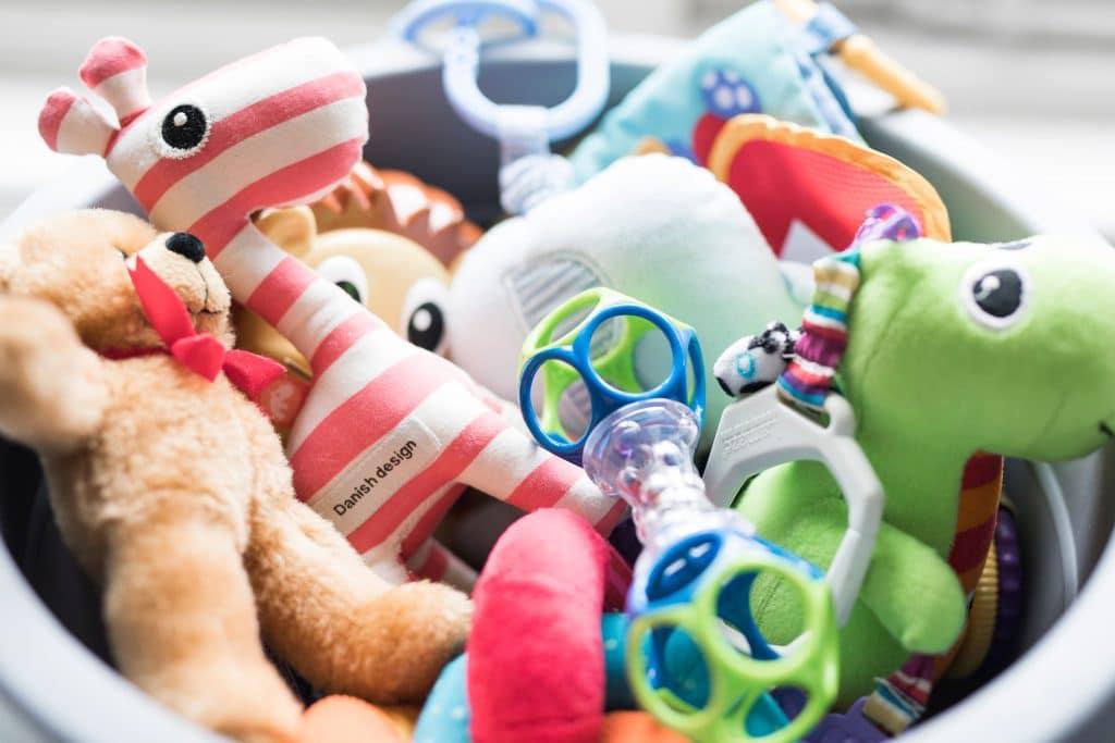 Sans oublier les jouets pour bébé