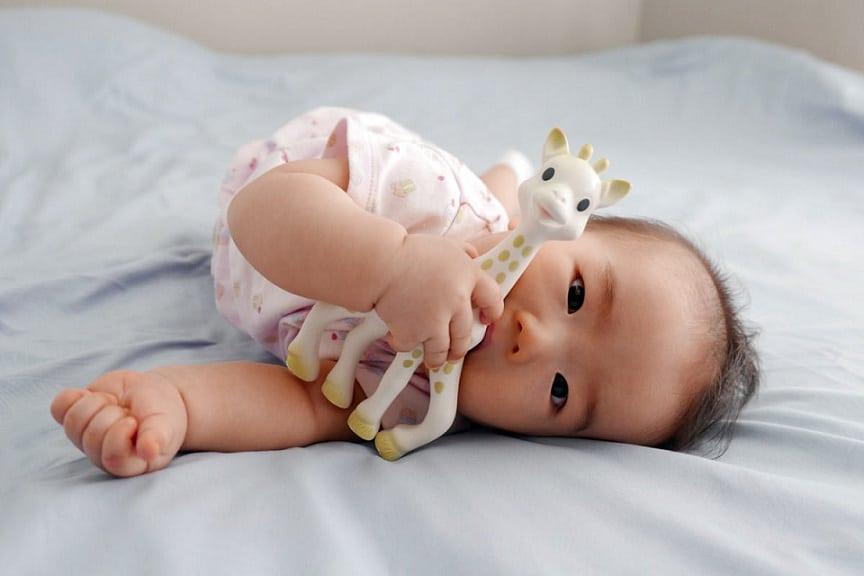 Sophie la Girafe : un jouet sécuritaire pour les nourrissons et enfants de tous âges