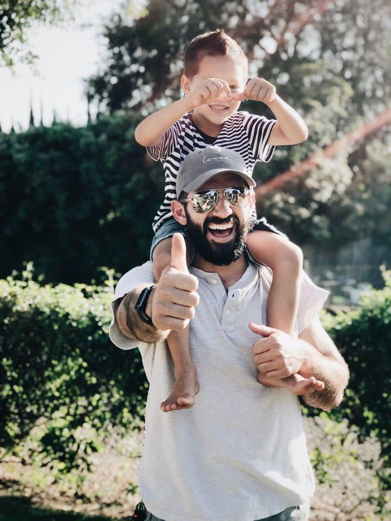 La casquette, pour les papas tendances et décontractés