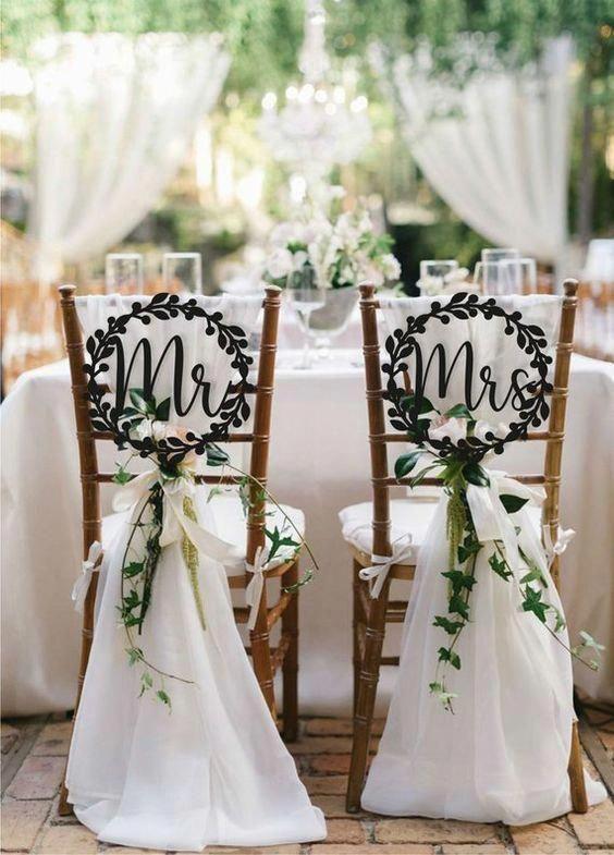 Alerte déco ! Soignez l'aspect des chaises de vos invité.es
