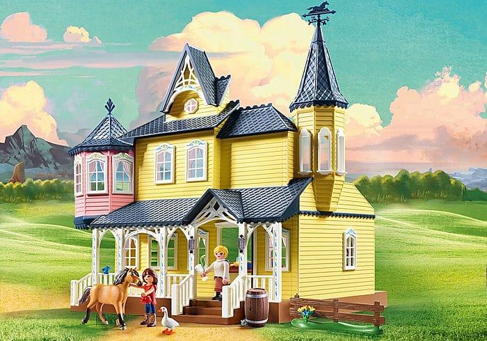 PLAYMOBIL 9475 - Spirit - Maison de Lucky