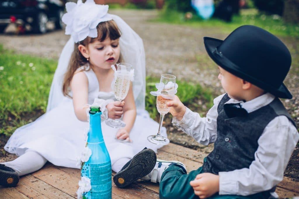 Impliquez vos enfants dans les préparatifs du mariage