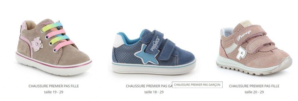 Les chaussures Primigi : idéales pour un bébé qui se met debout