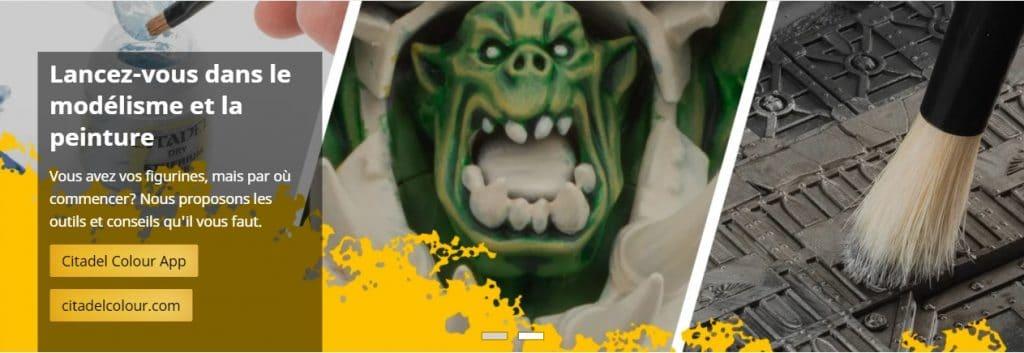 Figurines Warhammer à peindre : s'équiper